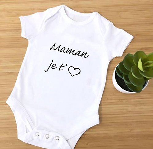 "Body ""maman je t'♥"""