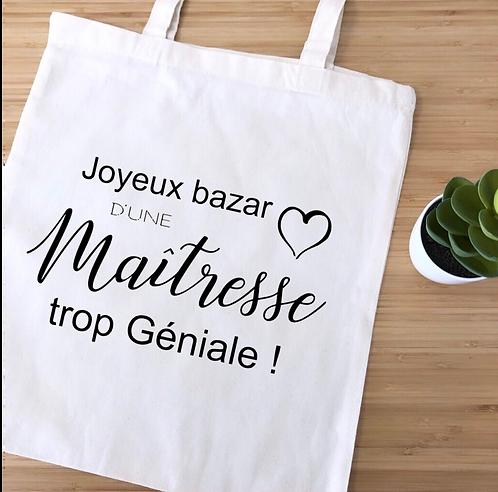 "Tote bag ""Joyeux bazar"""