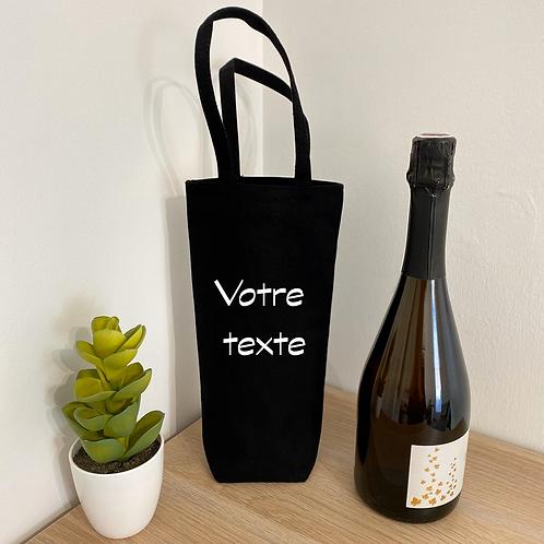 """Sac à bouteille - """"à personnaliser"""""""