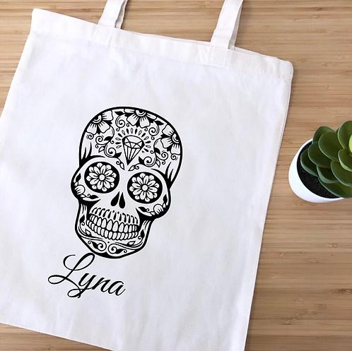 """Tote bag """"Sugar Skull"""""""