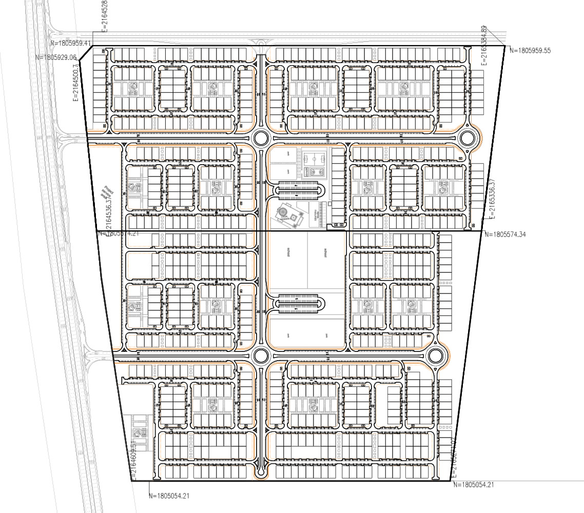 villas Development Master plan