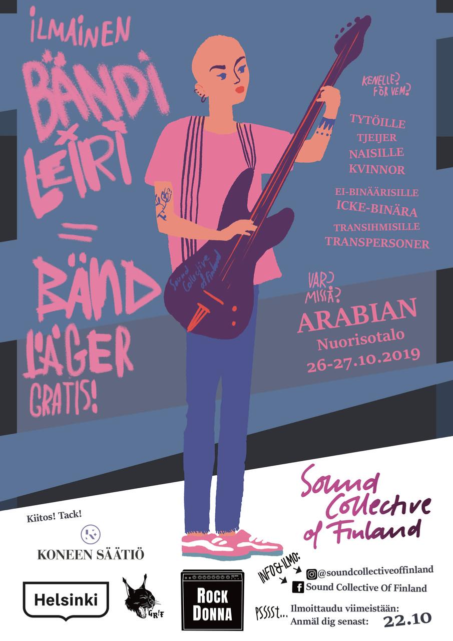 Sound Collective of Finland läger 26-27.10!