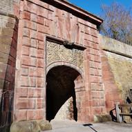 Portal vor der Restaurierung