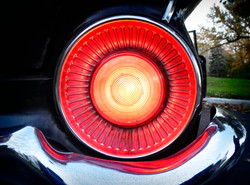 The red tail light