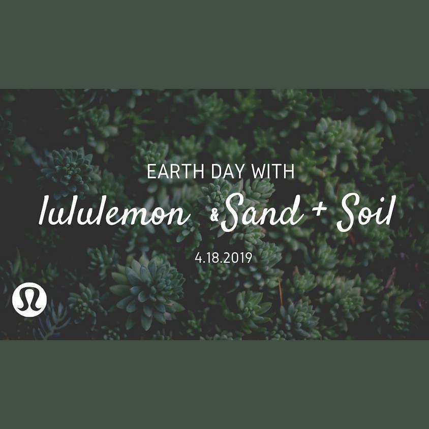 April 18th | Lululemon | Succulent Garden Workshop
