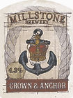 Millstone Brewery Crown and Anchor Beer