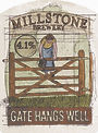 Millstone Brewery Gate Hangs Well Beer