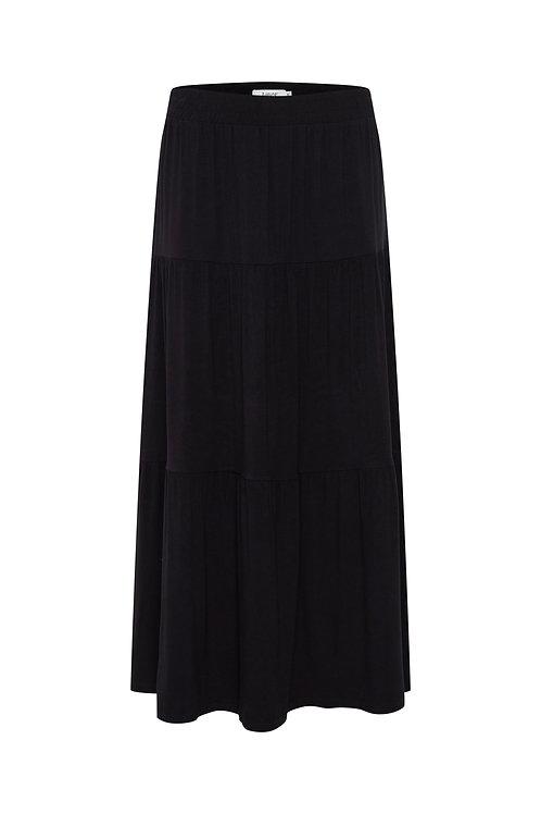 B.Young BYSilia Long Skirt Black