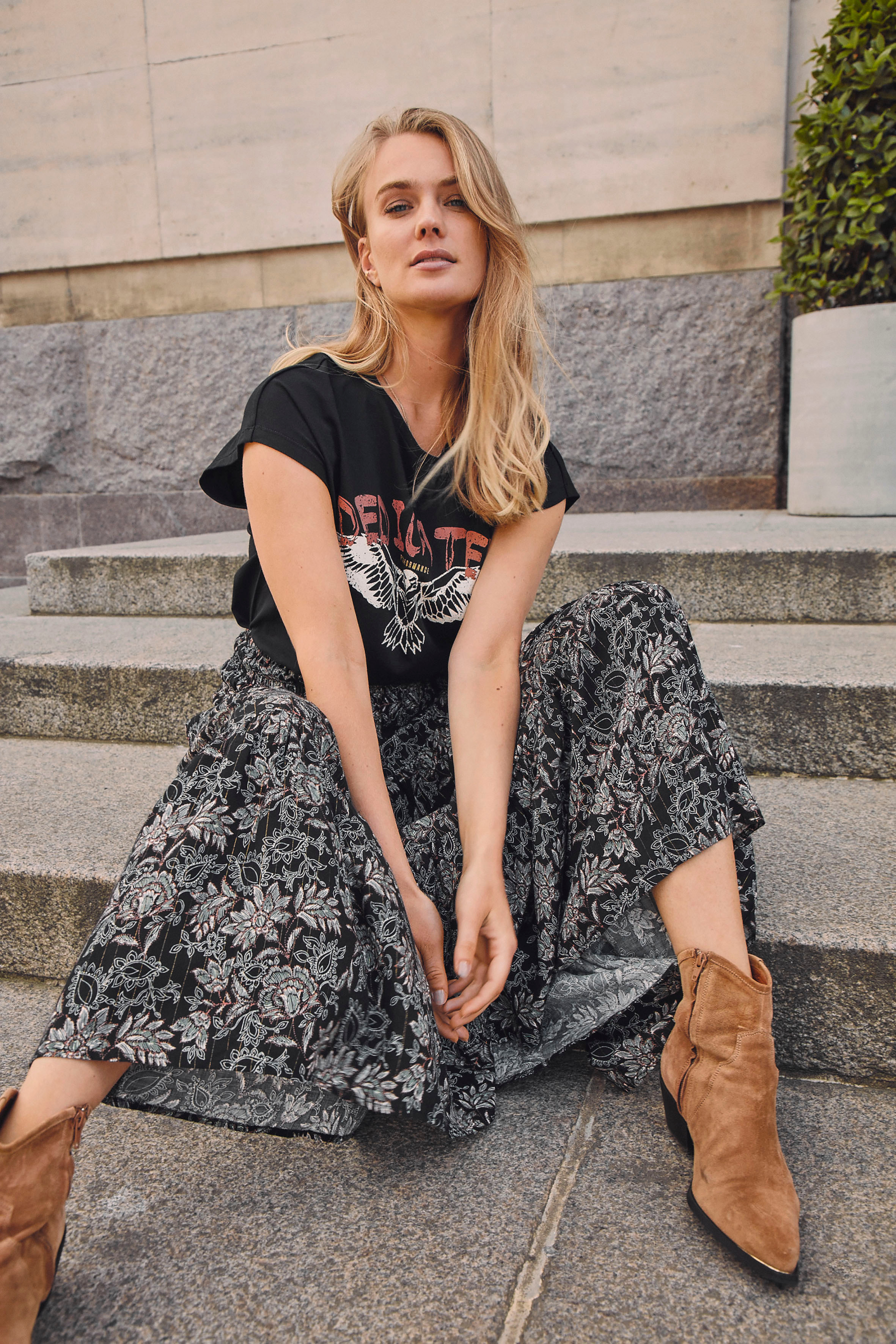 Bybcfiona Long Skirt 4