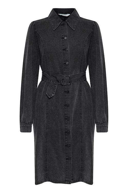 B.Young BYKalika Denim Dress Grey