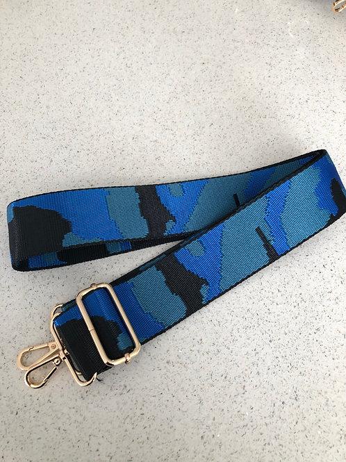 Bag Strap - Camo Cobalt