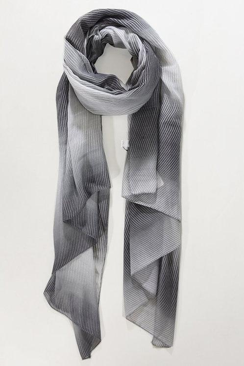 Wave L. Grey / D. Grey Scarf