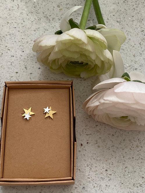 Sixton Star Earrings