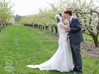 Sam & Bob - Spring Orchard Wedding
