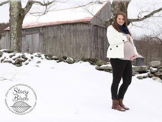 Brisk Winter Maternity Shoot