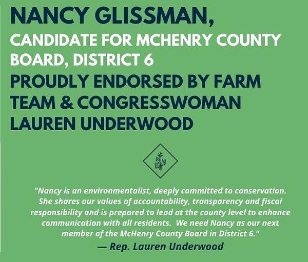 Nancy Glissman endorsement