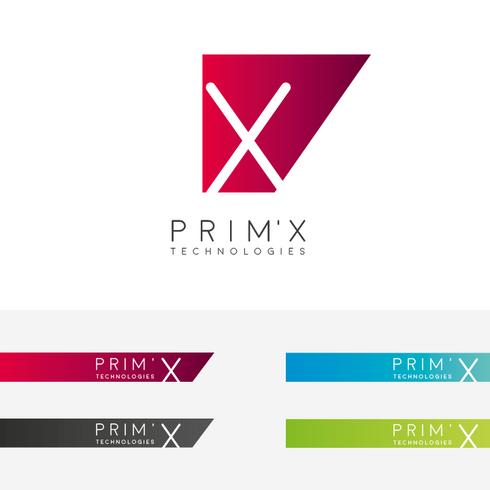Logo Prim'X - Axe 1