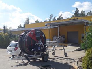 Laistāma iekārta ORMA Event 75/350 Strenču kokaudzētavā ..