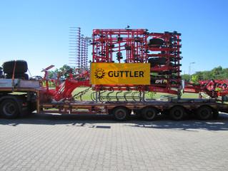Guettler SuperMaxx 1200 Profi piegādāts klientam.