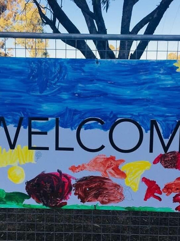 Welcome Signs - Art Project