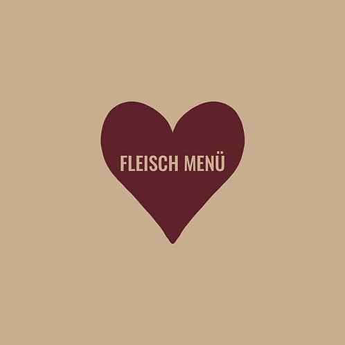 Fleisch-Menü