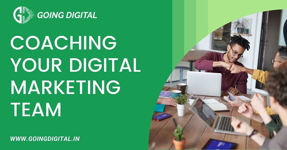 High Five Digital Marketing Coaching for your in-house team