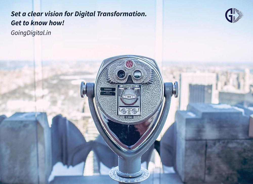 Setup your Digital Transformation Vision