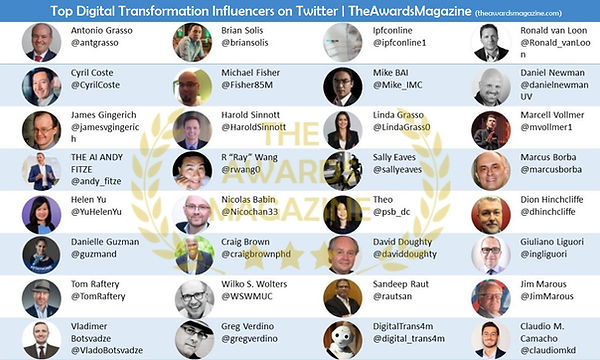 Top Digital Transformation Leaders on Tw