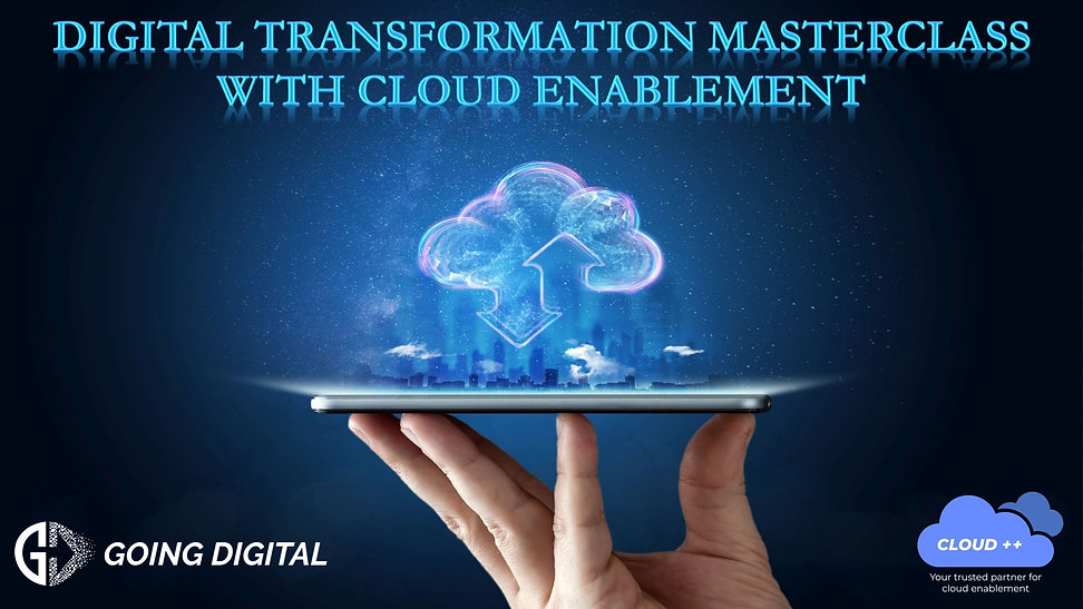 Digital Transformation Masterclass with