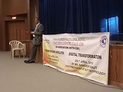 Digital Transformation session at Terna Engineering College
