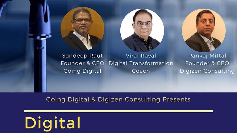 Digital Transformation Masterclass for CXOs