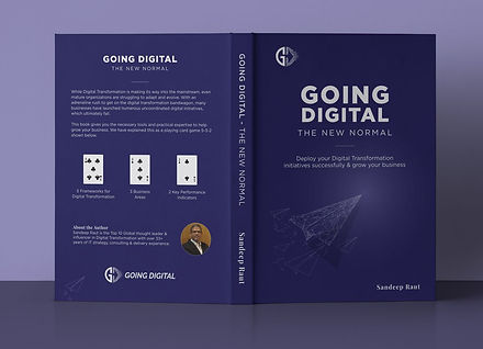 Going Digital - The New Normal book cove