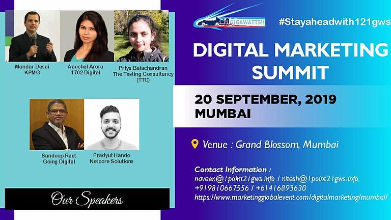 Digital Marketing Summit, Mumbai