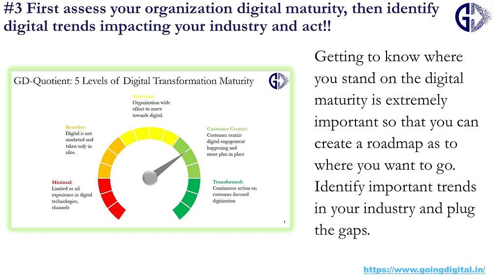 Digital Transformation tips