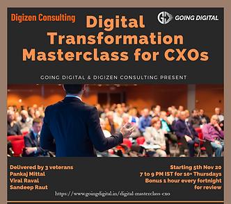 Digital Transformation Workshop for CXOs