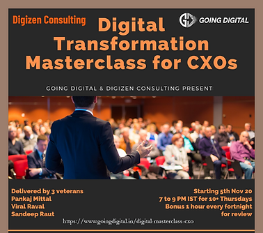 Digital Transformation Workshop for CXOs