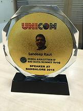 Speaker at India Analytics Big Data summit