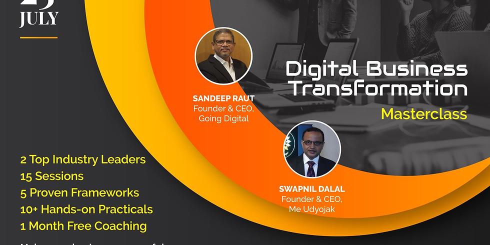 Digital Business Transformation Masterclass