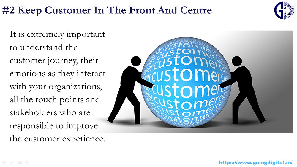 Customer Centricity is important for Digital Transformation