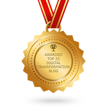 Global top 25 Digital Transformation Blo