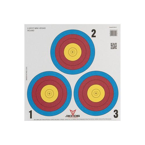 Mini Paper Target | 3-Spot 100-Count