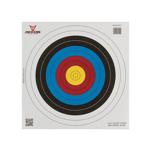 Mini Paper Target | 10-Ring 100-Count