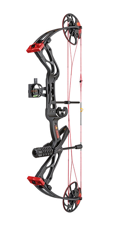 Courage Compound Bow Package - Black