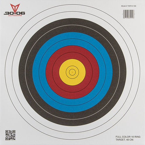 Official-Sized Paper Target | 10-Ring