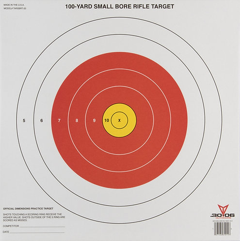 Sight-In Paper Targets (Small Bore)