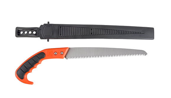 Serrated Hand Saw w/Scabbard