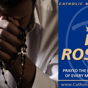 Join Us!  The Monthly Virtual Rosary