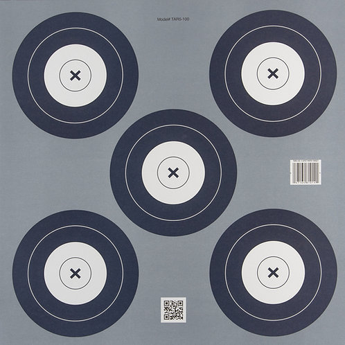 Official-Sized Paper Target | 5 Spot