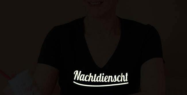 """T-shirt """"Nachtdienscht"""""""