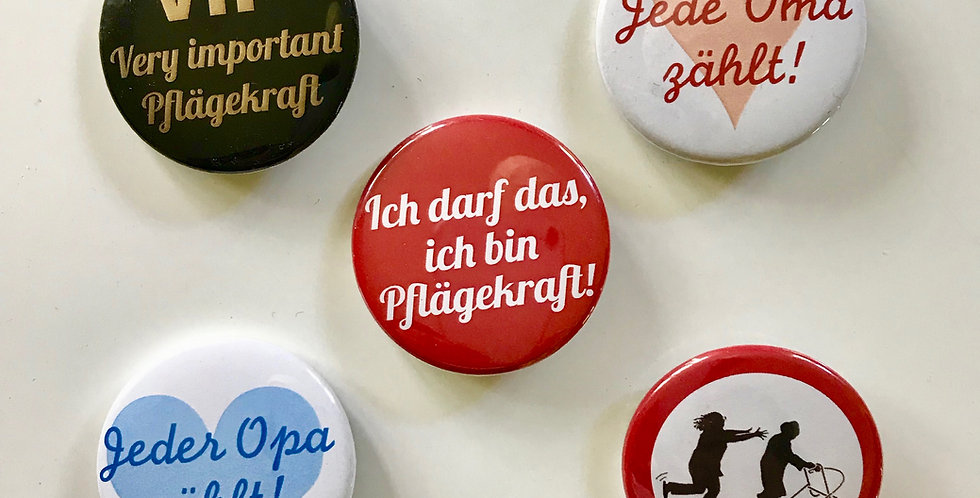 Alle 5 Buttons